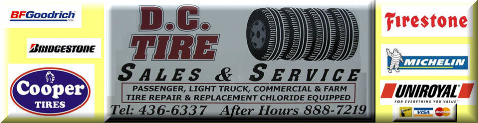 Rv Tires Find Rv Motor Home Camper Tires Gcr Tires >> D C Tire Dc Tire Tire Sales Service Summerside Pei